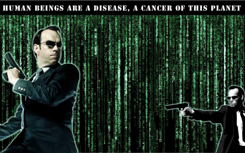 The Matrix Meet Agent Smith
