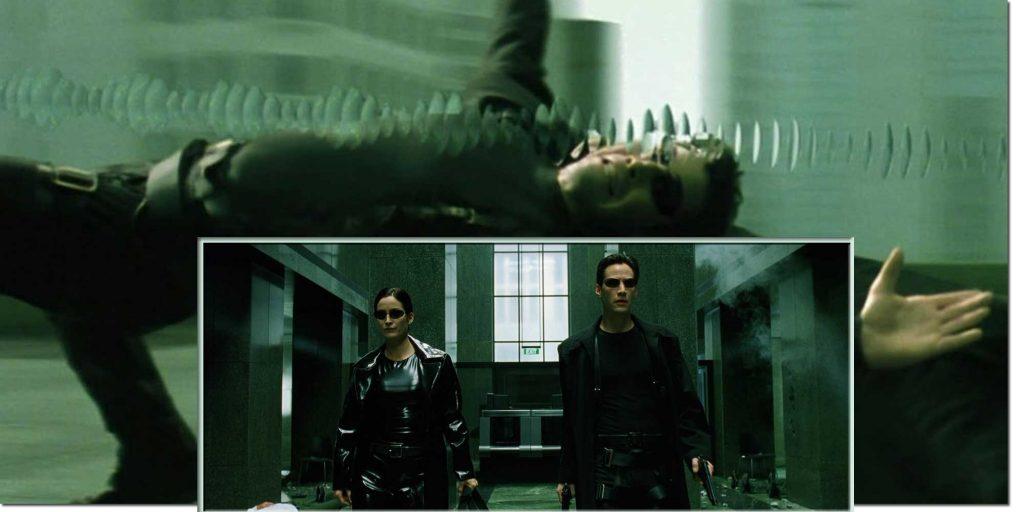 Matrix Charcters Trinity Neo