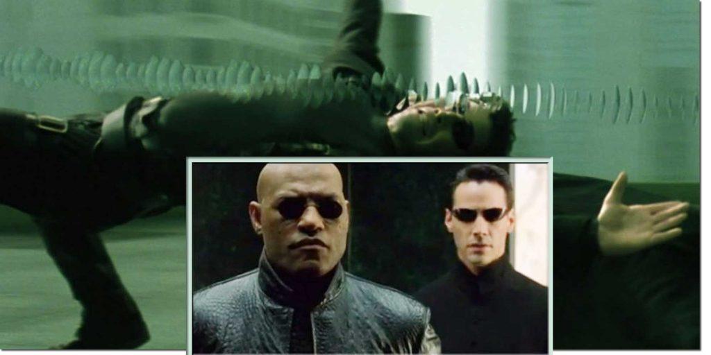 Characters Morpheus & Neo