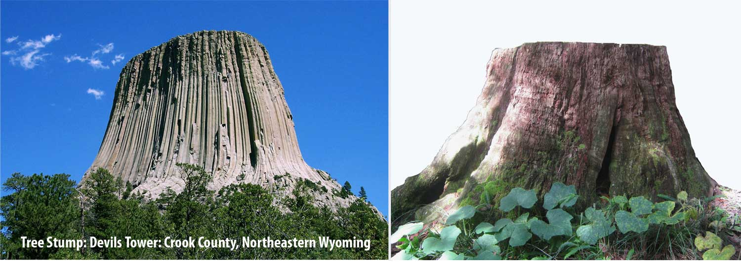 Flat top Mountain Devils Tower Wyoming