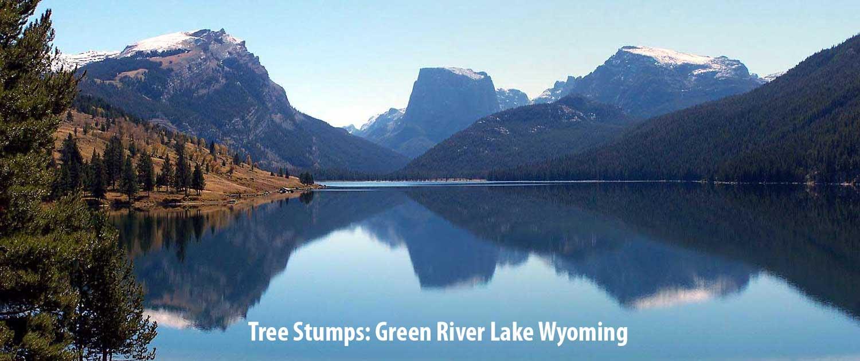 Flat Top Mountain Green River Lake Wyoming