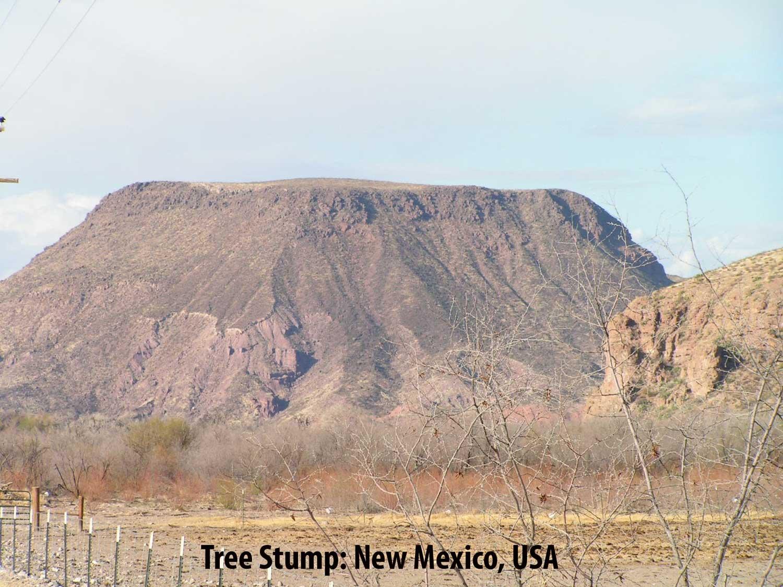 Flat Top Mountain New Mexico USA