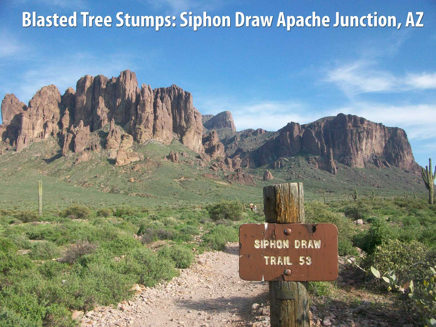 Flat Top Mountain Siphon Draw Apache Junction