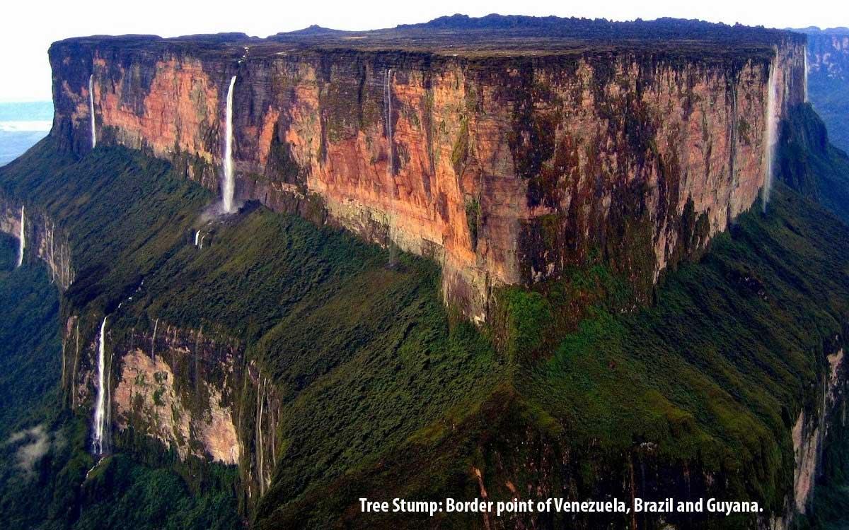 Flat Top Mountain Venezuela
