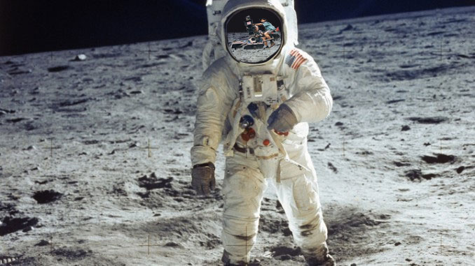 Astronots on the Moon