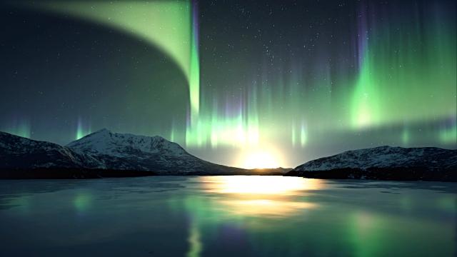 Aurora australis [Southern Lights]