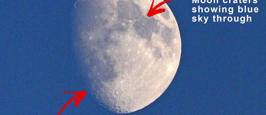 The Moon is an Impostor